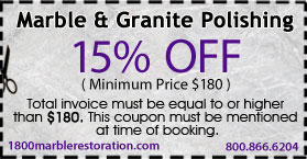 marble granit polishing restoration coupon